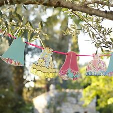 Truly Scrumptious Lampshade Bunting Shabby Chic Vintage Hen Tea Party Wedding