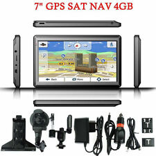 "2016 7"" Inch HD Car GPS Navigation 128RAM 4GB Navigator SAT NAV w/ Free US map"