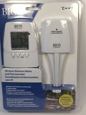 BIOS Wireless Weather Thermometer & Soil Moisture Meter - 304BC NEW