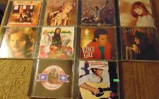 Lot of 10 Assorted COUNTRY CDs - Tanya Tucker  Suzy Bogguss  Travis Tritt +