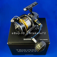 Shimano 15 TWIN POWER SW 6000PG, Spinning Reel Made In Japan, 033192
