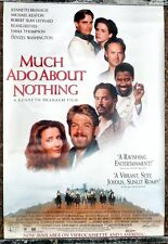 MUCH ADO ABOUT NOTHING VIDEO ONE SHEET MOVIE POSTER 1993 KENNETH BRANAGH DENZEL