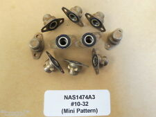 NAS1474A3 Self Sealing #10-32 Aircraft Nutplates Nut Plate Lot of 10
