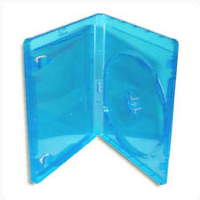 NEW! Single BLU-RAY Case *3-Pack* Official Logo-Molded Design (11mm) Blue