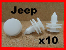 10 JEEP CHEROKEE LIBERTY push type door trim panel retainer clip fastener 40H