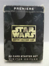 Star Wars Customizable Card Game Decipher #200 Starter Set Limited Edition 1995!