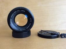 Pentax SMC Takumar 50mm f/1.4 Lens (Type IV) - M42 Screw Mount w/Caps