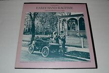Early Band Ragtime~Compiled By David A. Jasen~Folkways RBF Records