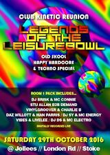 Legends Of The Lesuirebowl – Club kinetic Reunion – Part 4 – Room 1