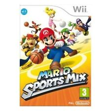 MARIO SPORTS MIX=NINTENDO Wii=AGE 3+=SUPER GAME=MINT=HOCKEY=BASKET=U k