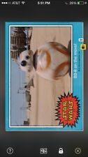 BB-8 On The Move Force Awakens Episode VII Insert Star Wars Card Trader