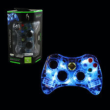 Afterglow Wired Controller for Xbox 360 - Blue Officially Licensed