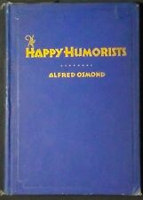 The Happy Humorists:Poems that Click with Good Cheer Osmond/White LDS Hbk 1st