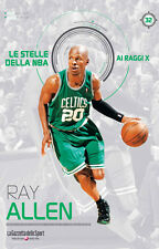 LIBRO BOOK N° 32 RAY ALLEN LE STELLE DELLA NBA AI RAGGI X BOSTON CELTICS