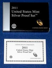 2011 SILVER Proof Set Replacement Box and COA ONLY
