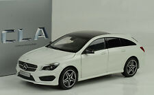 2015 Mercedes-Benz CLA class Shooting Brake cirrus white 1:18 Norev Dealer