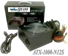 New Retail SHARK® ATX 120mm Fan  SLI PCI-E 1000W Gaming Computer PC Power Supply