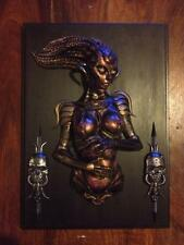 "Extremely Rare! H.R. Giger Species Alien ""Sil"" 3D Wall Sculpture LE of 100"