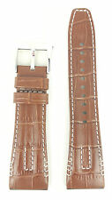 Seiko Velatura Yachting Timer Brown Watch Strap 4A471 SRH011P1 Band SPC041P1