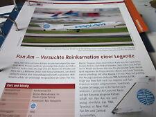 Airlines Archiv USA Pan Am Versuchte Reinkarkarnation einer Legende 2S