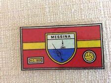 SCUDETTO FIGURINE PANINI CALCIO CALCIATORI 1964/65 MESSINA  A.C. 1906