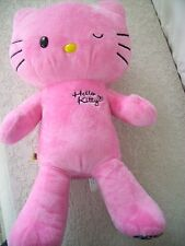 "BUILD A BEAR (BAB) HELLO KITTY PLUSH PINK WINKING LEOPARD 18"" NO BOW"