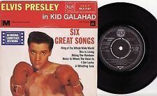 ELVIS PRESLEY - KID GALAHAD Very rare UK EP Release!