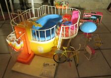Vintage Barbie Lot Complete Swimming Pool Bike Furniture Accessories, Boxes