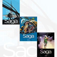 Saga Volume (4 to 6) Series Collection 3 Books Set Brian K. Vaugha PRE-ORDER NEW