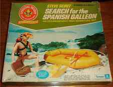 VINTAGE STEVE SCOUT SEARCH FOR THE SPANISH GALLEON 1974 KENNER NEW BNIB BOX WORN