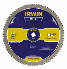 IRWIN Tools Metal-Cutting Circular Saw Blade, 10-inch, 80T 4935561
