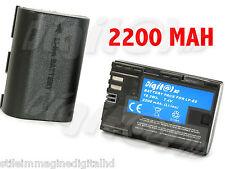 BATTERIA LP-E6 PER CANON EOS 70 D 6 D 5 D MARK III 3 MK 2  7 D 60 D INFOCHIP