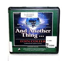 BOOK/AUDIOBOOK CD Eoin Colfer Fiction Hitchhiker's Guide AND ANOTHER THING...