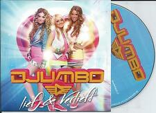 DJUMBO - Lief & Verliefd CD SINGLE 3TR Eurodance Europop 2013 HOLLAND RARE!!