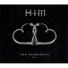 HIM The Sacrament Vol.2 2003 Four Track CD  NEW
