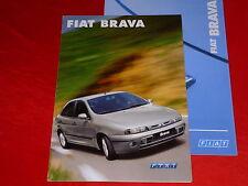 FIAT Brava SX Clima ELX Prospekt + Preisliste von 2001