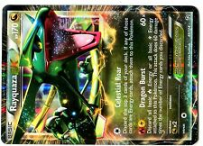 POKEMON BW6 BLACK & WHITE DRAGONS EXALTED HOLO N°  85/124 RAYQUAZA EX
