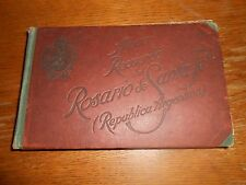 """Album Recuerdo del Rosario de Santa Fe (Republica Argentina) Antique photo book"