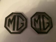 MG BADGE GRIGLIA ANTERIORE E POSTERIORE BOOT BADGE 70mm con fori Capocorda per MG TF le 500