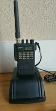 YAESU 2 Meter (FT-411E) Handheld FM TRANSCEIVER W/CHARGER BASE **WORKS GREAT**
