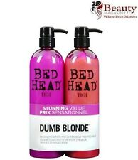 TIGI Bed Head Colour Combat Dumb Blonde Shampoo & Conditioner 750ml & Free Pump