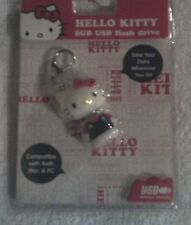 Hello Kitty 8GB USB Flash Drive-Compatible With Both Mac & PC-Pink, White, Black