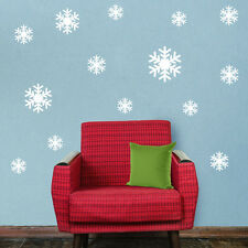 Christmas white Snowflakes Sticker