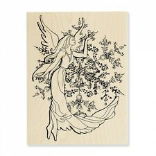 STAMPENDOUS RUBBER STAMPS CRYSTAL ANGEL STAMP 2015
