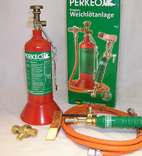 Perkeo Smooth Soldering Set, Roofers Iron, Blow Torch, Soldering, Original Goods