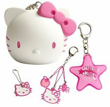 Hello Kitty Regalo Set Borsetta Charm, Torch, Coin DETENTORE, Copertura Chiave