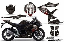 AMR Racing Graphic Kit Wrap Part Suzuki GSXR 600/750 Street Bike 08-10 BONES BLK