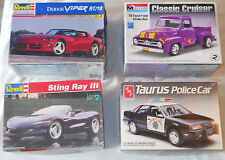 Revell & Monogram 1:24 Scale Ford Dodge Viper Sting Ray AMT Taurus Complete Kits