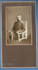 RUSSIA LATVIA SOLDIER WITH MEDAL AND SWORD VINTAGE PHOTO 1418