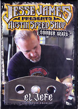 JESSE JAMES PRESENTS AUSTIN SPEED SHOP BOMBER SEATS - NEW DVD